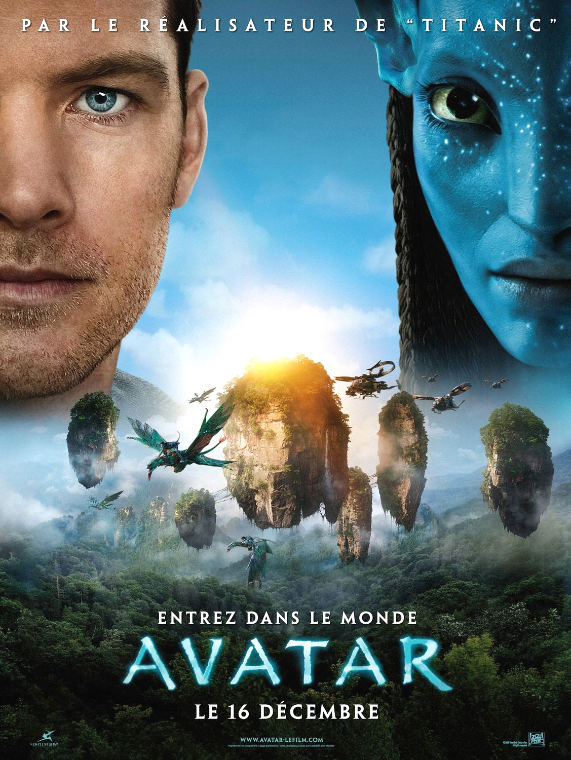 Avatar. 2009. French (47x63in). SS/Folded