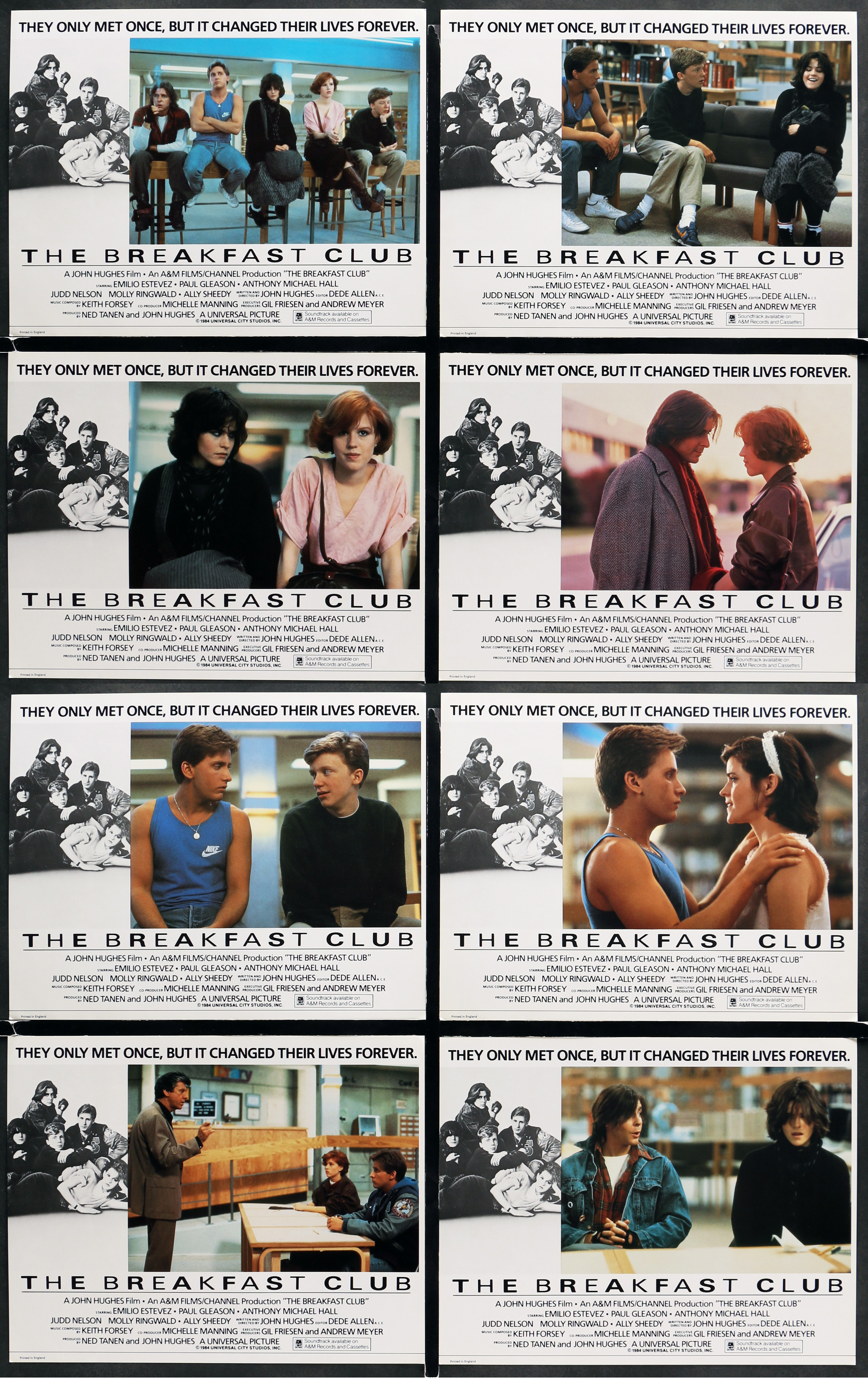 a film analysis of the breakfast club by john hughes John hughes took molly ringwald, emilio estevez, anthony michael hall and the other brat pack crew to a chicago high school to shoot his 1985 dramedy the chicago tribune reports that, during a local high school's move to new offices, an original screenplay of the breakfast club was discovered in a.