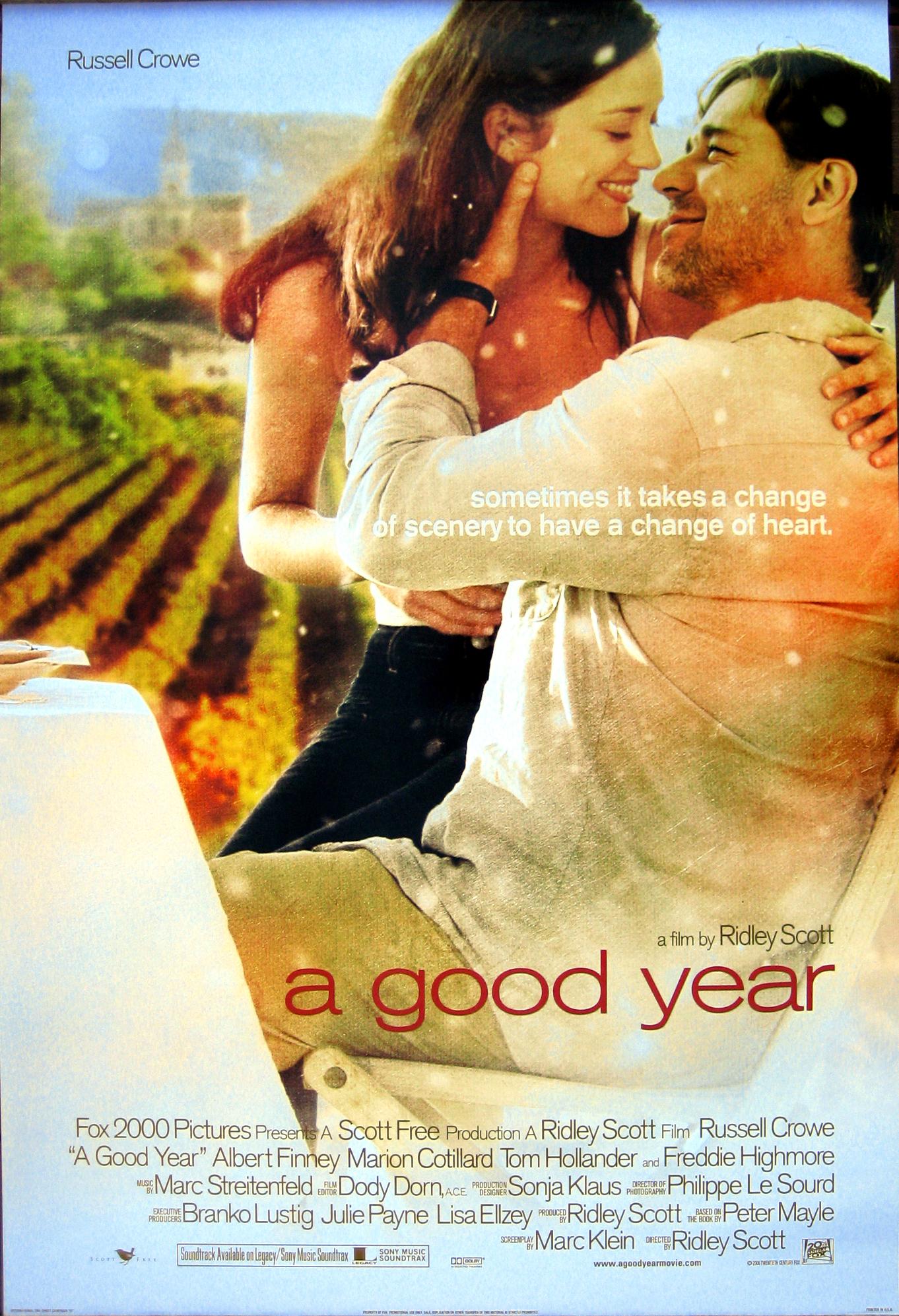 фильм Хороший год A Good Year 2006 смотреть онлайн