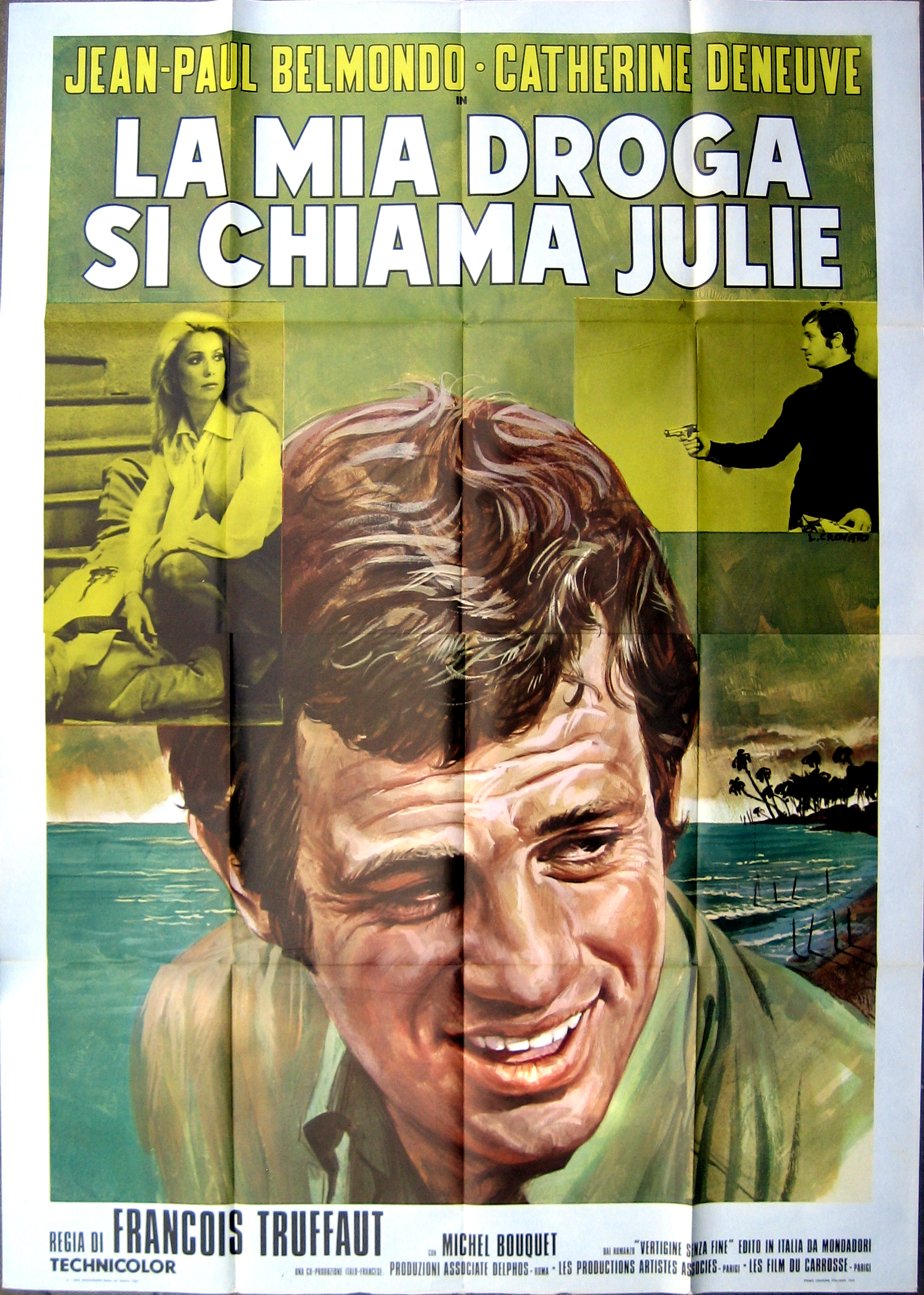 Cast: Jean-Paul Belmondo,
